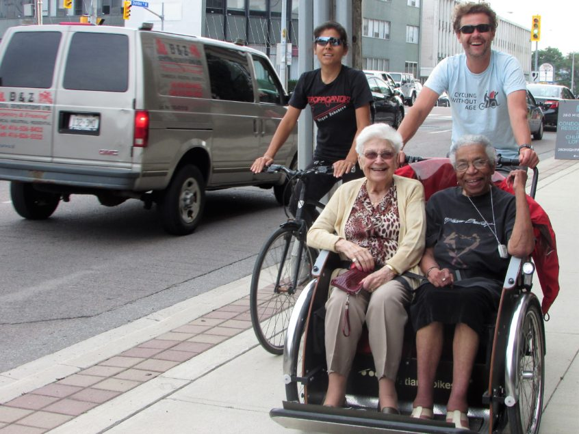 Cycling Without Age at Delmanor Prince Edward!