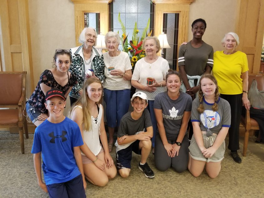 Resident & Student Workshop at Delmanor Glen Abbey