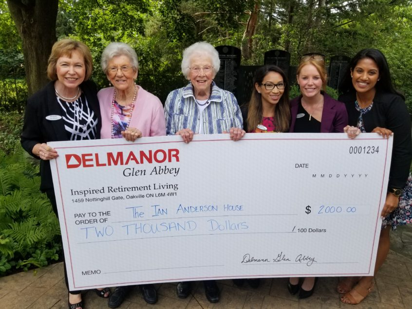 Delmanor Glen Abbey Gives Back