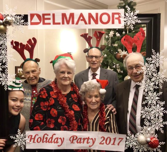 Delmanor Northtown Holiday Party!