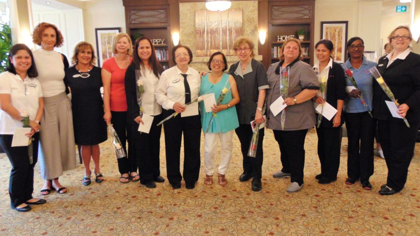 Delmanor Elgin Mills Employee Long Term Service Awards 2018