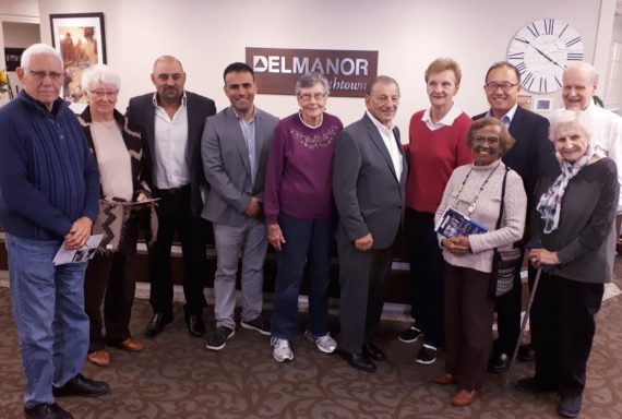Meeting the Candidates at Delmanor Northtown