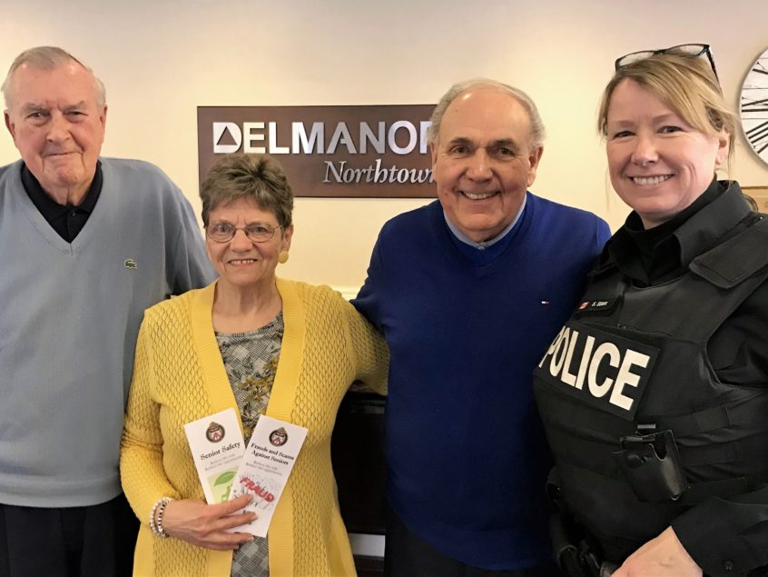 Fraud and Crime Prevention & Safety Seminar at Delmanor Northtown