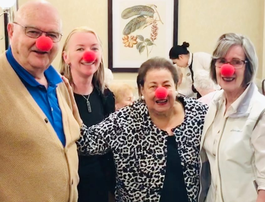 Red Nose Day at Delmanor Elgin Mills