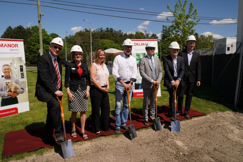 GROUND BREAKING CELEBRATION – DELMANOR AURORA