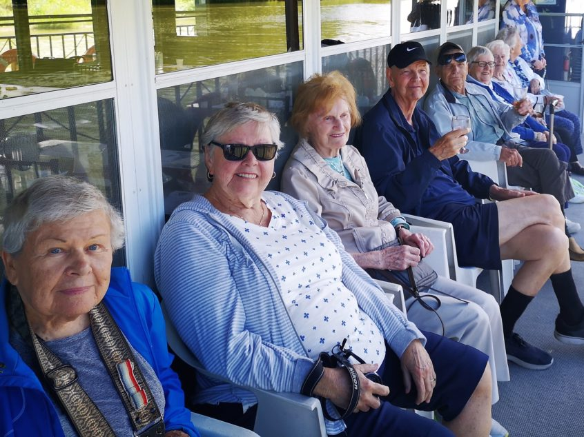 Delmanor Wynford Residents Cruising the Grand River