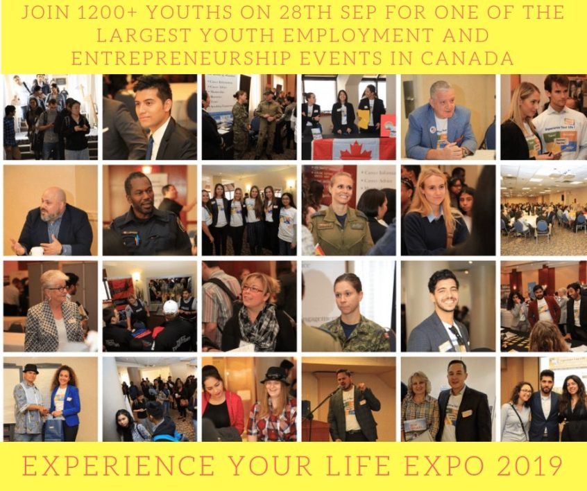 "The ""Experience Your Life Expo""!"