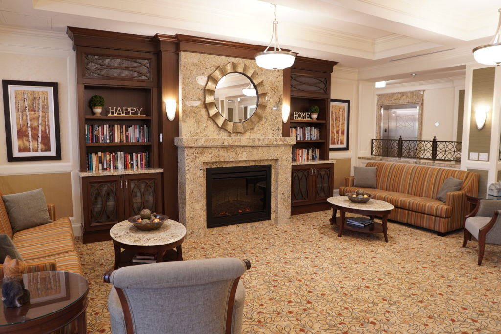 Elgin Mills Fireside Lounge