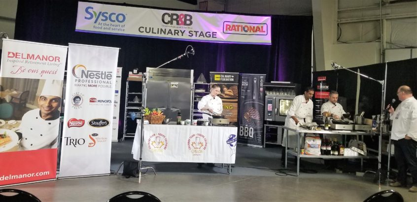 The Delmanor Chefs on Centre Stage at the Canadian Restaurant and Bar Show