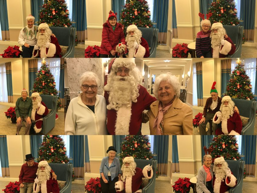 Santa Claus Came to Delmanor Prince Edward!