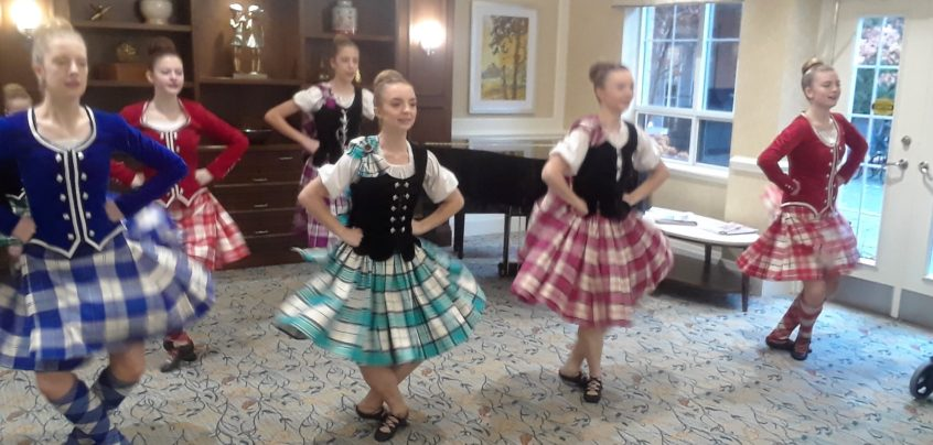 Robbie Burns Day Celebrations Continued at Delmanor Glen Abbey!