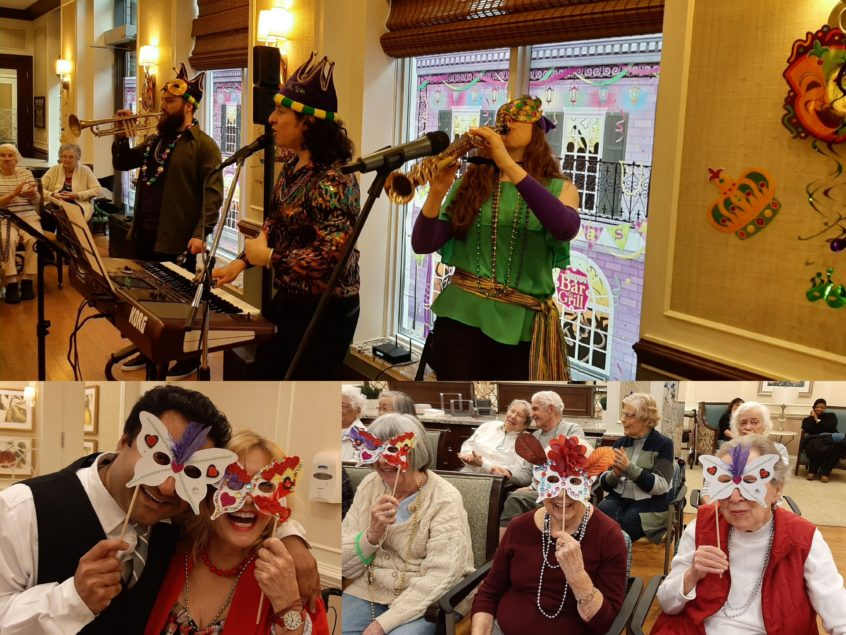 Mardi Gras Celebrations Continue at Delmanor Prince Edward