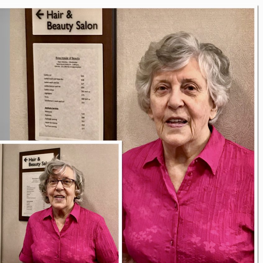 Delmanor Northtown Welcomes Back Rosa, Our Wonderful Hairstylist!