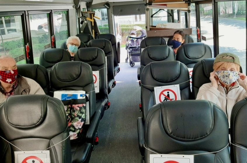 The Return of the Delmanor Wynford Bus
