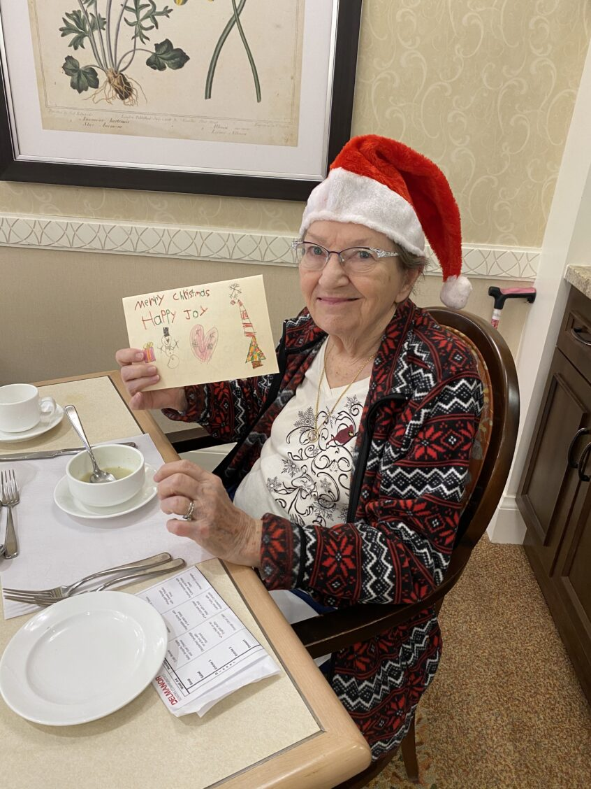 A Christmas Surprise for Delmanor Elgin Mills