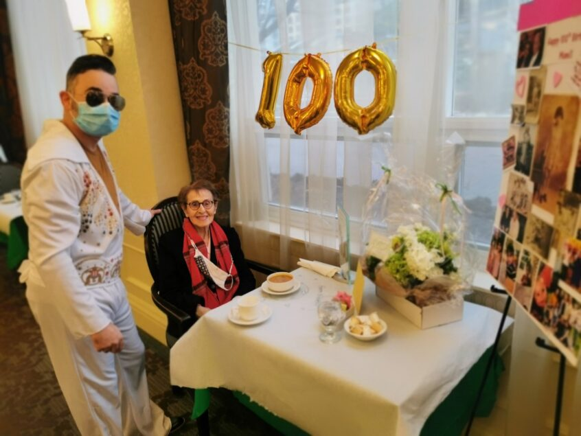 Happy 100th Birthday Frances!