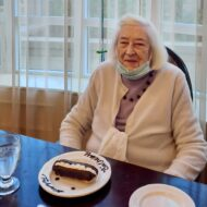 Lucie's 100th Birthday-Delmanor Wynford