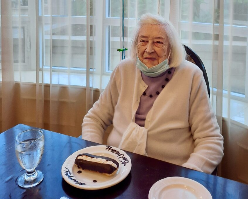 Canadian Artist Lucie Simons Celebrates Her 100th Birthday!