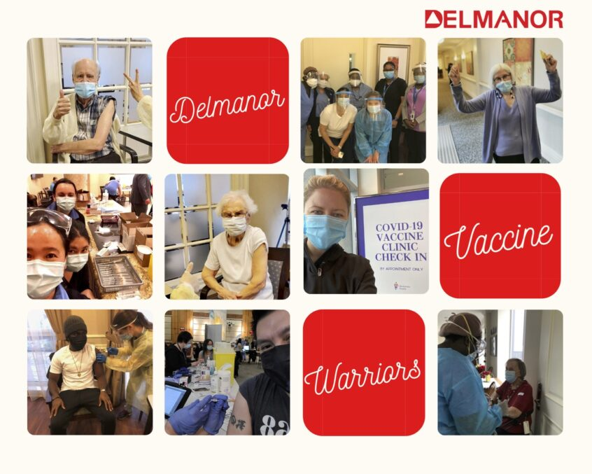 The Delmanor COVID-19 Vaccine Warriors